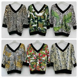 Italian women's blouse EK23.07(28)