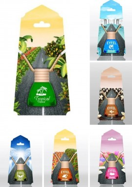 EYFEL Fragrances for car 10 ml MIX OF fragrances