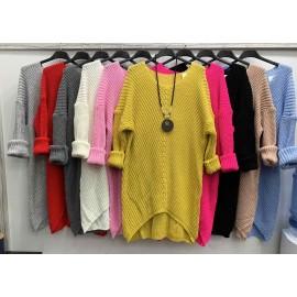 Italian women's sweater dress EK27.08(72)