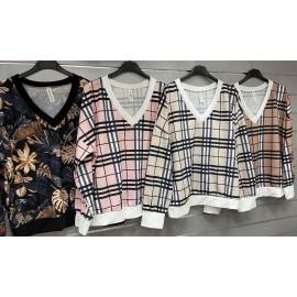 Italian women's blouse EK11.09(27)